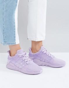 Сиреневые кроссовки adidas Originals EQT - Фиолетовый