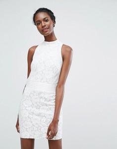 Кружевное платье мини Endless Rose - Белый