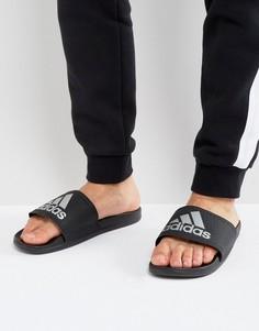 Черные шлепанцы adidas Adilette CF+ S79352 - Черный