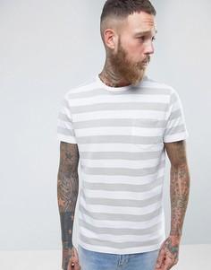Фактурная футболка Common People - Белый