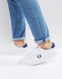 Белые сетчатые кроссовки Fred Perry Spencer - Белый