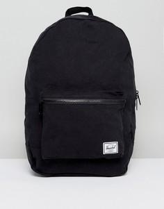 Черный складной хлопковый рюкзак объемом 24,5 литра Herschel Supply Co. - Черный