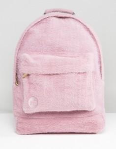 Розовый классический рюкзак из искусственного меха ограниченной серии Mi-Pac - Розовый