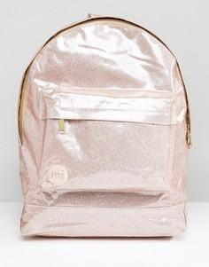 Классический блестящий рюкзак Mi-Pac - Розовый