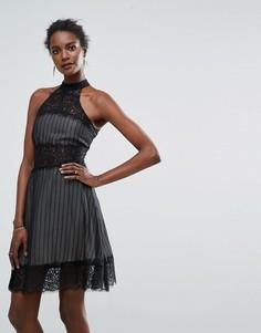 Платье мини Keepsake Starstruck - Черный