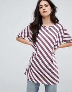 Oversize-футболка Vila - Черный