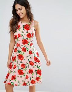 Платье с цветочным принтом Louche Moesha - Розовый