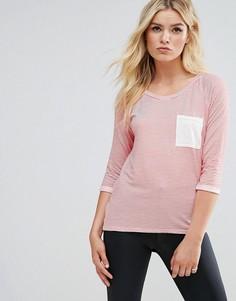Футболка с контрастным карманом Daisy Street - Розовый
