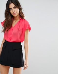 Блузка Louche Madison - Оранжевый