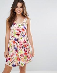 Платье с цветочным принтом Louche Garnet - Розовый