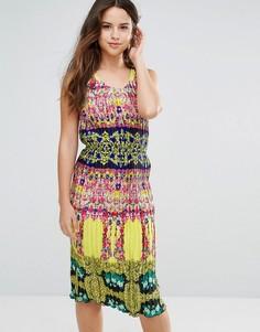 Платье миди Louche Kiya - Мульти