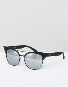 Солнцезащитные очки с планкой Quay Australia - Черный