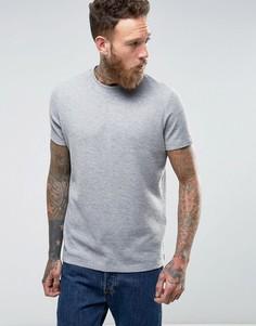 Серая меланжевая футболка ASOS - Серый