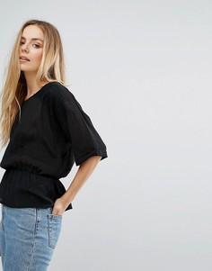 Свободная блузка Vila - Черный