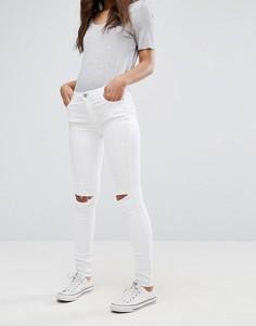 Зауженные джинсы Glamorous - Белый