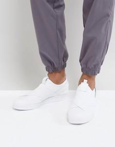 Белые кроссовки-слипоны adidas Originals Superstar BZ0111 - Белый