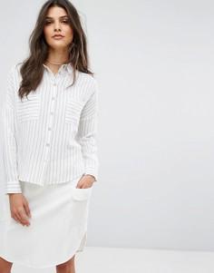 Рубашка в полоску Suncoo - Белый
