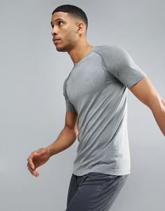 Серая футболка Puma Running evoKNIT 59063203 - Серый