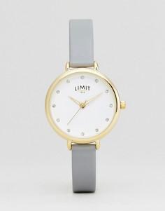 Часы с ремешком из искусственной кожи Limit 6219.37 - Серый
