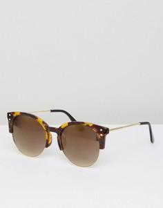 Солнцезащитные очки в черепаховой оправе AJ Morgan - Коричневый