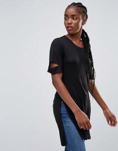 Длинная футболка Bellfield Acacia - Черный