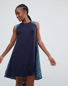Платье-трапеция Bellfield Lewisia - Темно-синий