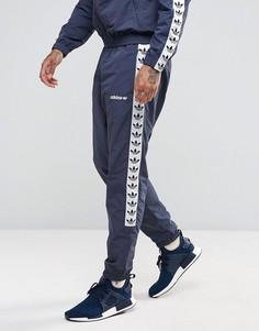 Темно-синие спортивные джоггеры с кантом adidas Originals Adicolor TNT AJ8828 - Темно-синий