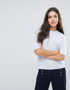 Свободная футболка Selected Hana - Синий
