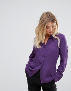 Классическая рубашка Minimum - Фиолетовый