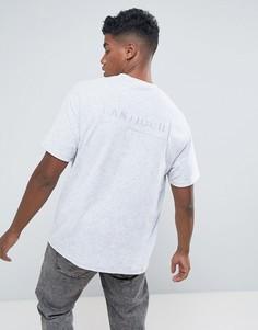 Свободная махровая футболка Antioch - Серый