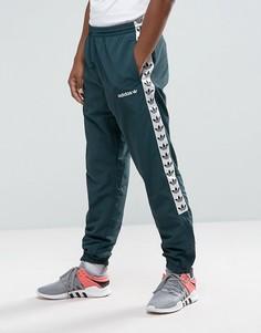 Зеленые спортивные джоггеры с кантом adidas Originals Adicolor TNT BR6968 - Зеленый