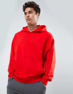 Красное oversize-худи ASOS - Красный