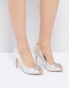 Туфли с отделкой Dune Bridal Dolley - Белый