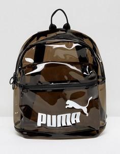 Прозрачный рюкзак Puma - Черный