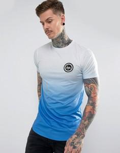 Темно-синяя футболка с выцветшим эффектом Hype - Темно-синий