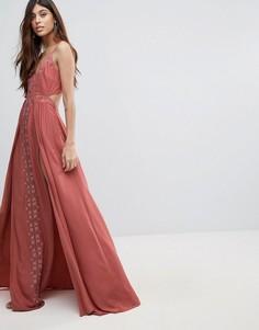 Платье макси The Jetset Diaries - Розовый