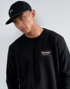 Кепка с регулируемым ремешком Brixton Langley - Черный