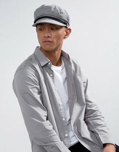 Плоская кепка Brixton Fiddler - Серый