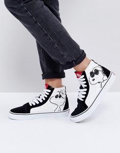 Высокие кроссовки Vans X Peanuts Sk8 - Мульти