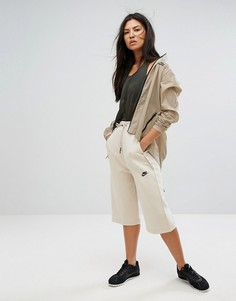 Укороченные брюки Nike - Кремовый