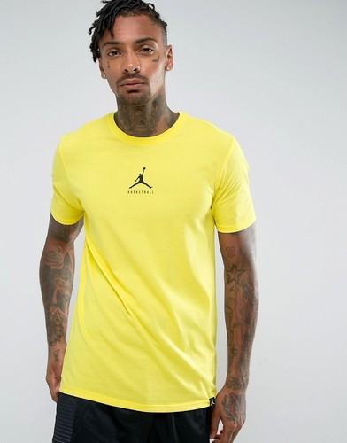 Желтая футболка Nike Jordan 23/7 Basketball Jumpman 840394-741 - Желтый