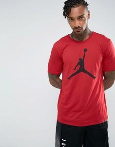 Красная футболка с логотипом Nike Jordan Jumpman 834473-687 - Красный