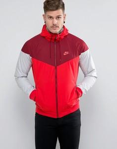Красная ветровка Nike 727324-602 - Красный