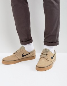 Бежевые кроссовки Nike SB Zoom Stefan Janoski 333824-212 - Бежевый