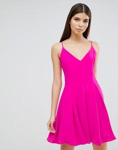 Платье-трапеция Greylin Silivia - Розовый