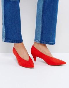 Туфли на среднем каблуке ASOS STRIKE - Красный