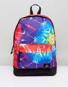 Рюкзак с ярким принтом тай-дай ASOS - Мульти