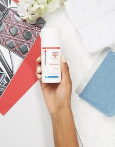 Солнцезащитный лосьон SPF 50+ для очень чувствительной кожи Ultrasun Extreme - 100 мл - Бесцветный