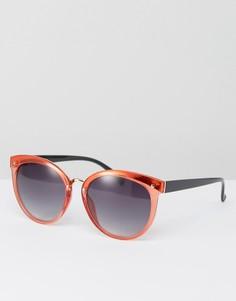 Большие солнцезащитные очки AJ Morgan - Красный