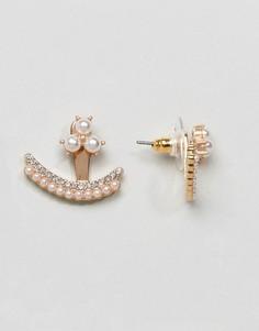 Серьги с камнями ALDO - Золотой